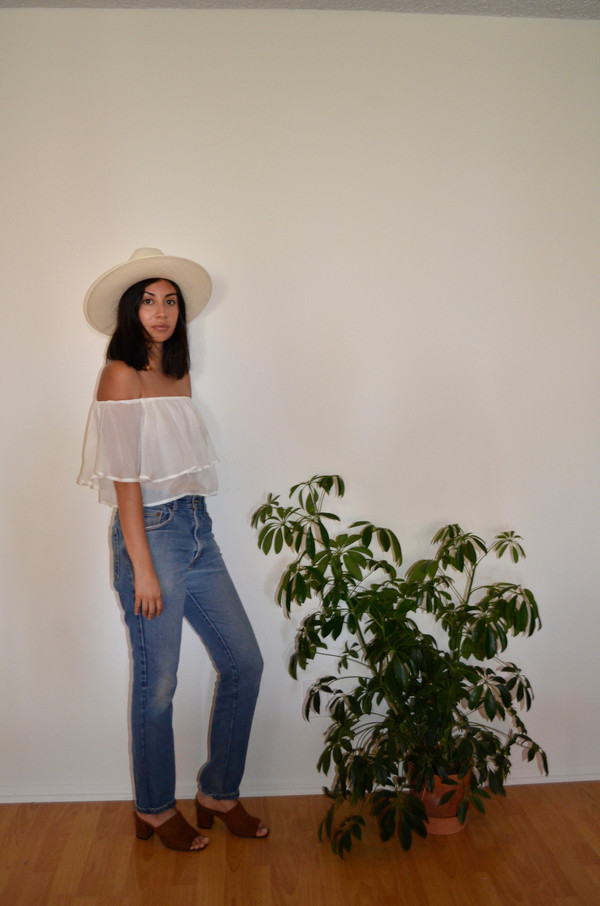 BETWEEN TEN Montana Top - White Silk