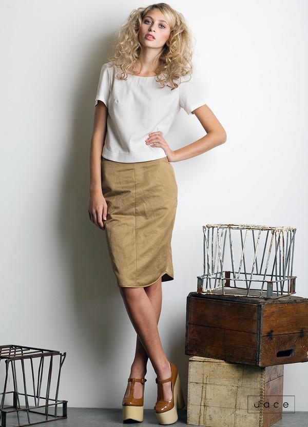Dace - Teak Skirt