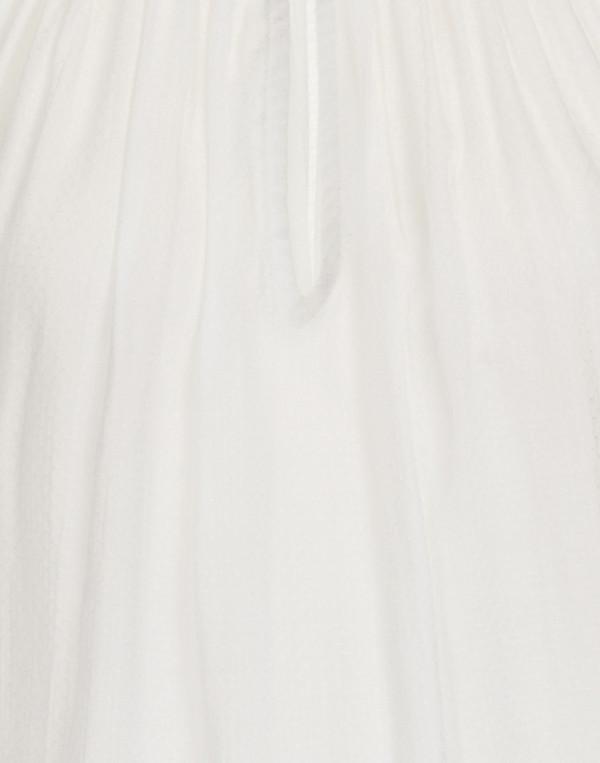 Corey - 'Elisa' White Poet Blouse