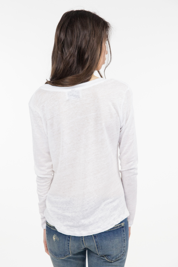 Just Female Journey Blouse - White