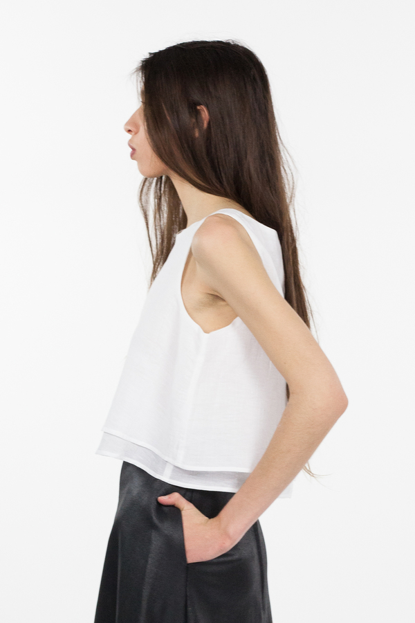 Obakki Cambria Blouse - White