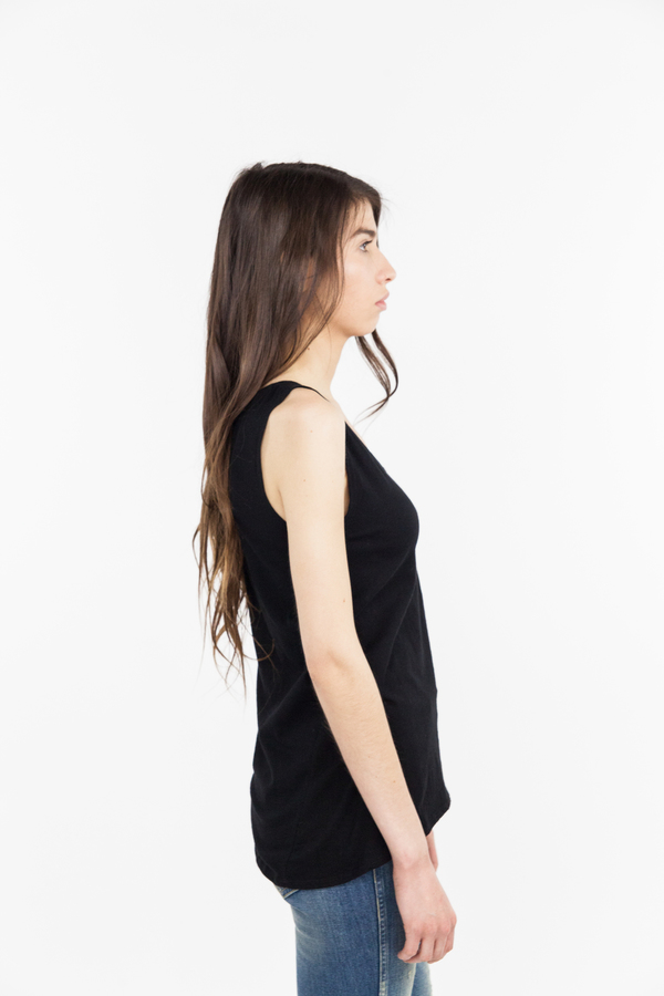 Kowtow Building Block Singlet - Black