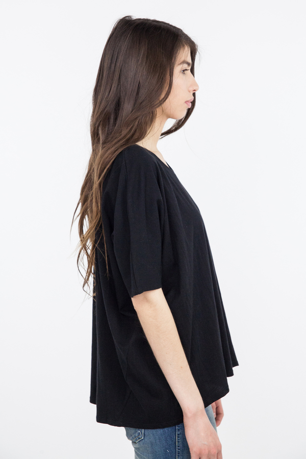Kowtow Building Block Oversize Top - Black
