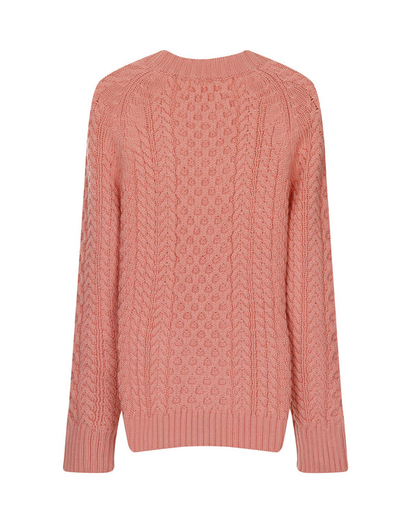 Apiece Apart Anni Fisherman Jumper Flamingo Pink