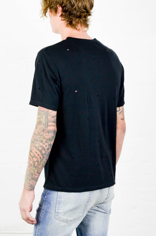Men's Chapter Black Speck Tee