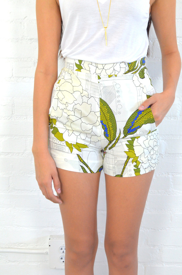 Christine Alcalay Flight Print Short