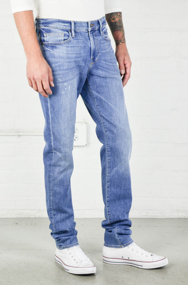 Men's FRAME Denim Frame L'homme Skinny in Russel Cave