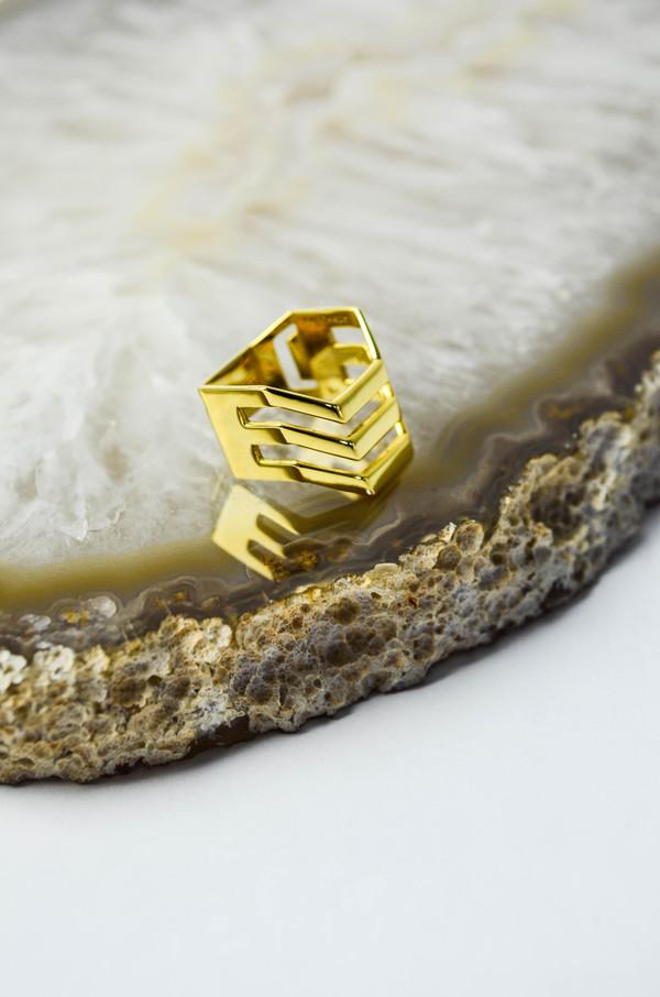 Maria Black Trinity Ring