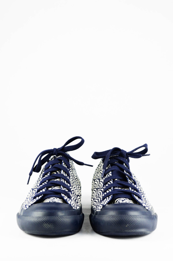 Men's Naked and Famous Kimono Waves Print Japan Sneaker