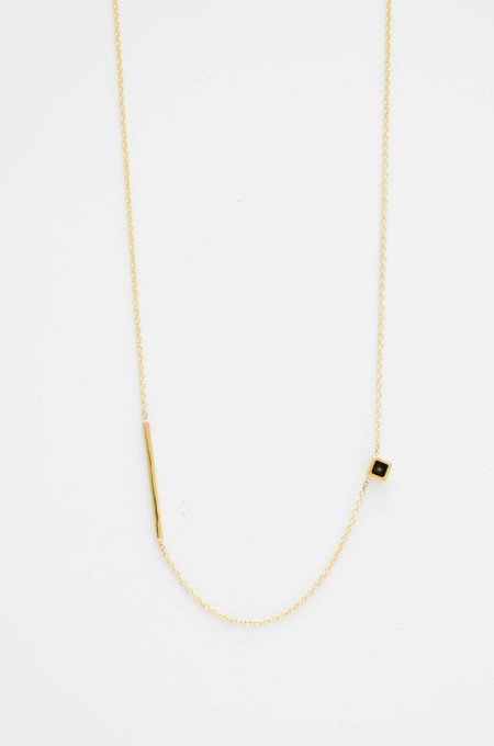 Still House Black Diamond Inu Necklace