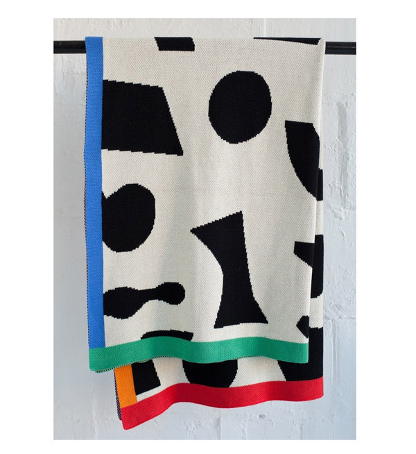 Dusen Dusen Shapes Throw Blanket