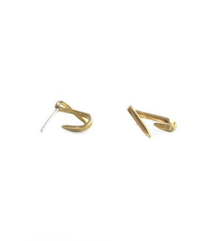 Fay Andrada Brass Viiva Earrings