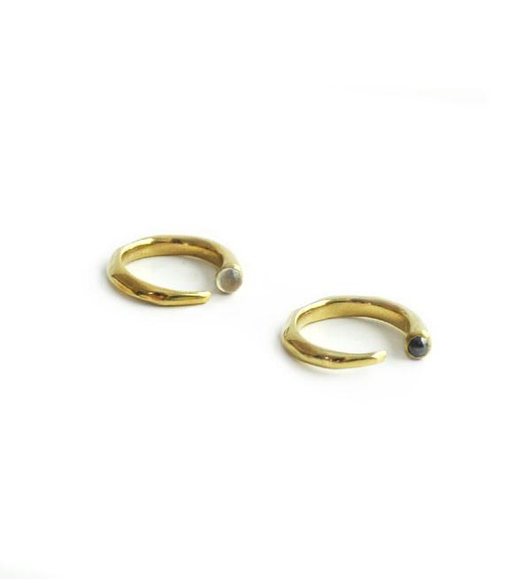 Odette New York Odette Hematite Metis Ring