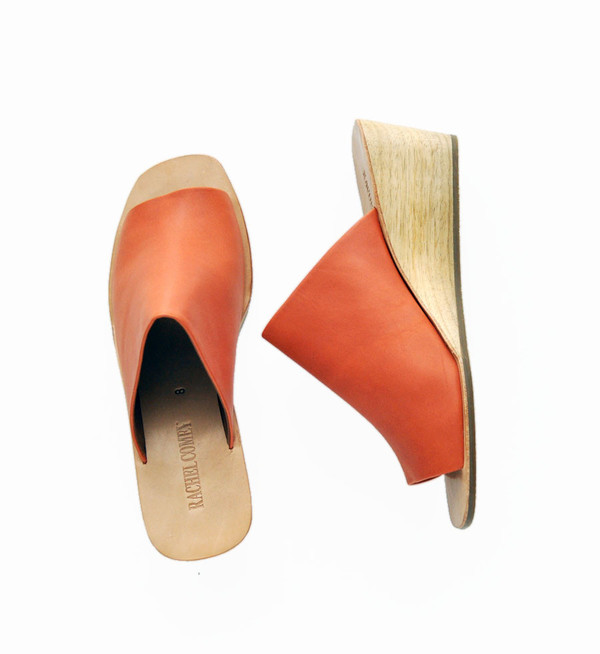 Rachel Comey Polished Alloy Lyell Wedge