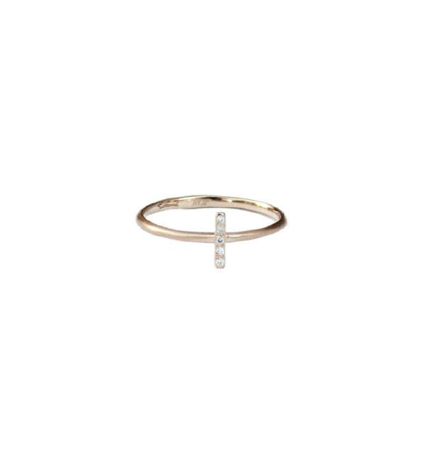 Satomi Kawakita Five Diamond Ring