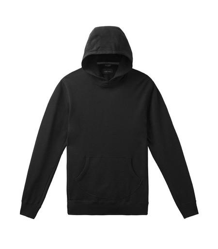 Men's Wings + Horns Original Hooded Pullover | Black