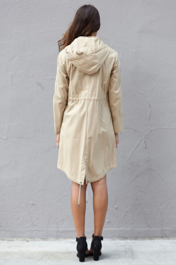 Snowman MARCH Trench Coat