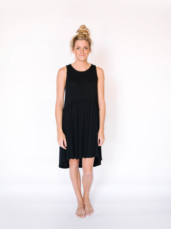 Jodifl Lace Trim Dress