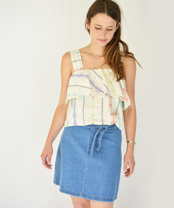 Ace & Jig Sunkissed Frances Top