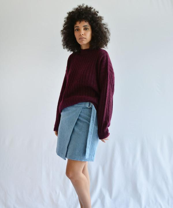 Delfina Balda Royal Mini Skirt
