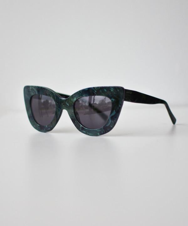 Dusen Dusen Malachite Triangle Sunglasses