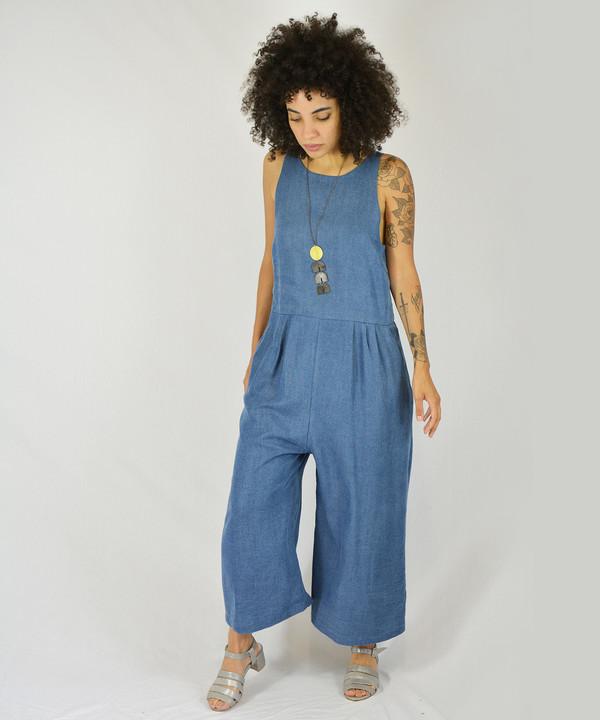 First Rite Crop Pantsuit