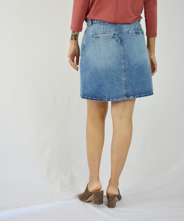 Just Female Pine Skirt