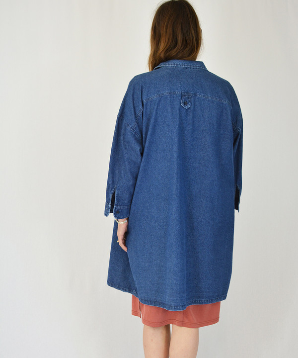 Lacausa Denim Nena Shirt Jacket