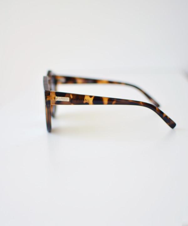 Le Specs Milky Tort Neo Noir Sunglasses