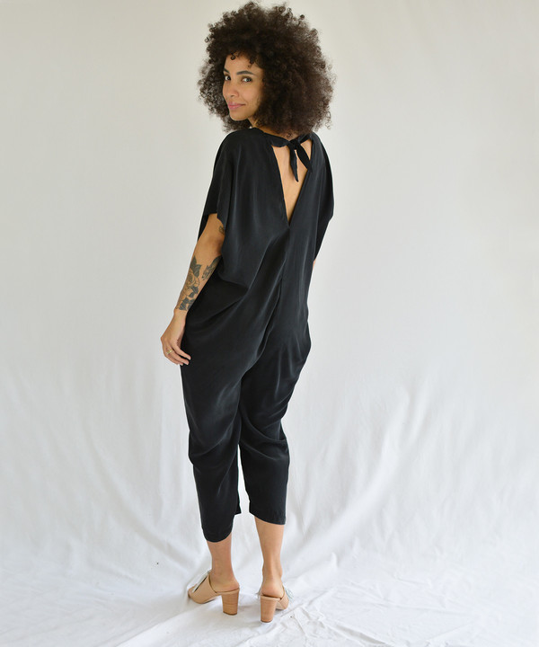 Miranda Bennett Olive Everyday Jumpsuit