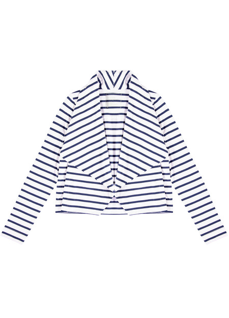 Kowtow Building Block Stripe Drape Cardigan