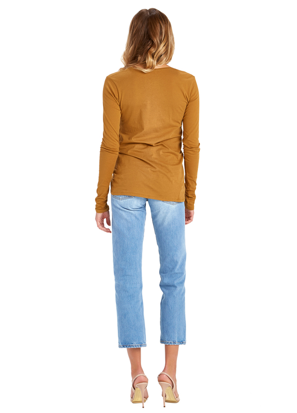 Kowtow Building Block Long Sleeve Top