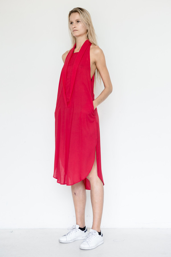 Assembly New York Rayon Shawl Dress