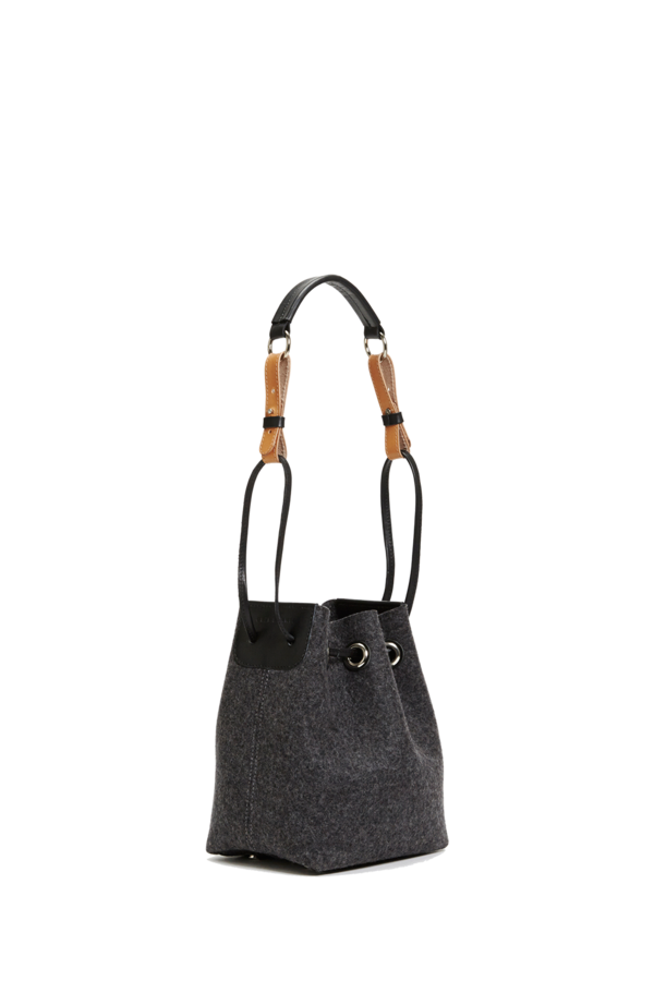 Pasadena mini bucket charcoal