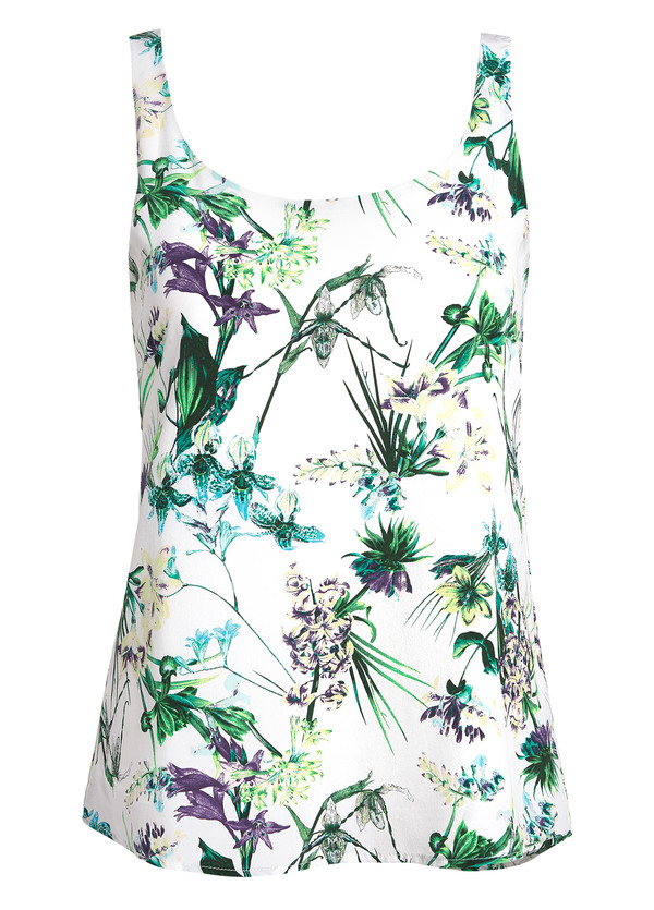 Amour Vert Stacy Tank Tropical Print