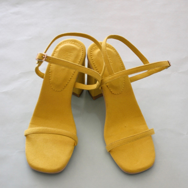 Rafa Simple sandal - yellow