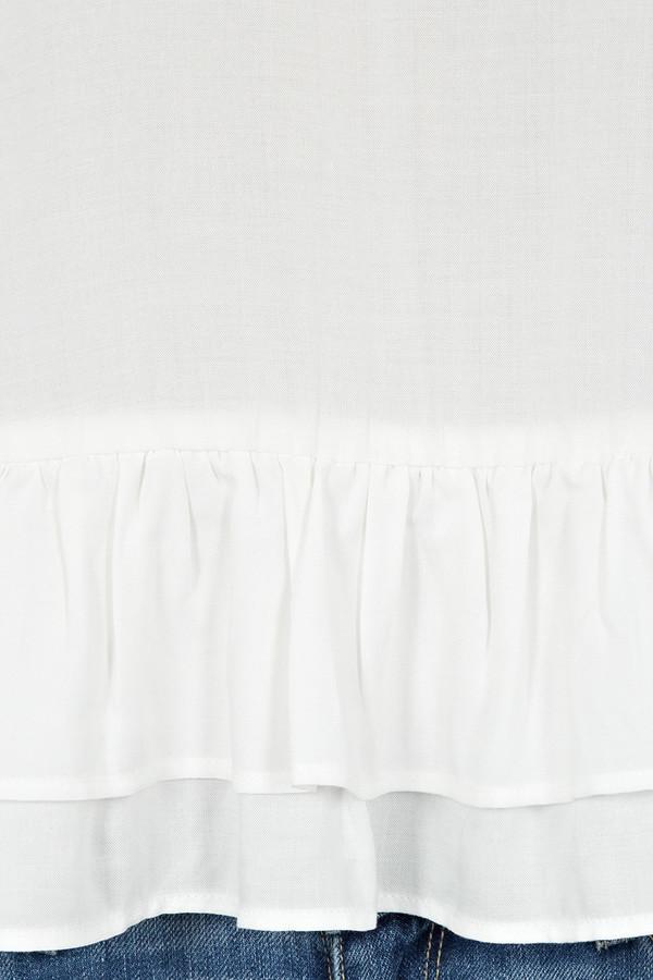 Rodebjer - White Lindy Peplum Frill Tunic