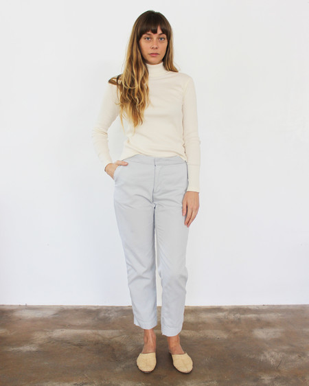Esby Sam Relaxed Pant- Sky Grey
