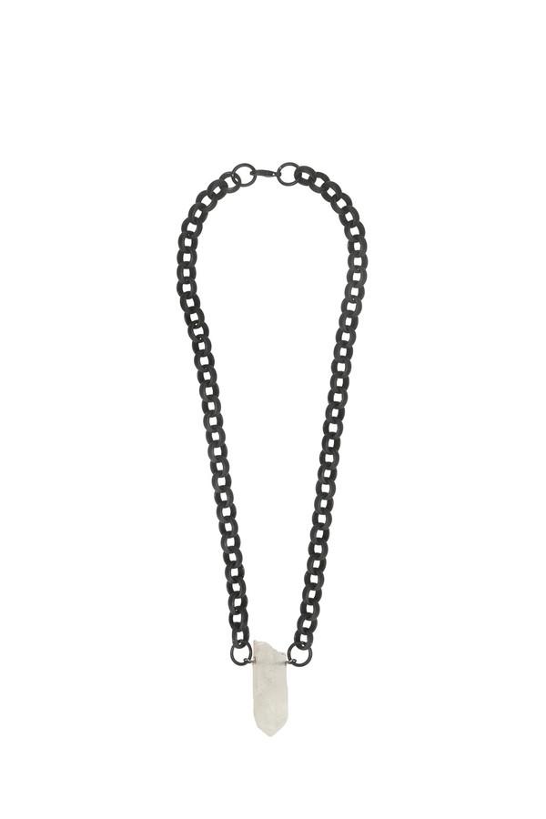 Ali Grace Black Chain Necklace