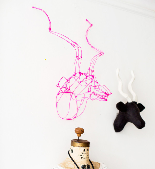 Wire Animal Heads