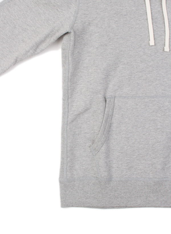 Reigning Champ Midweight Pullover Hoodie Heather Grey