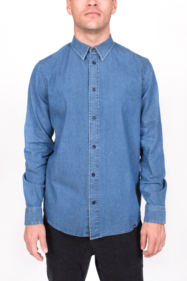 Men's Wood Wood Denim Flint Shirt