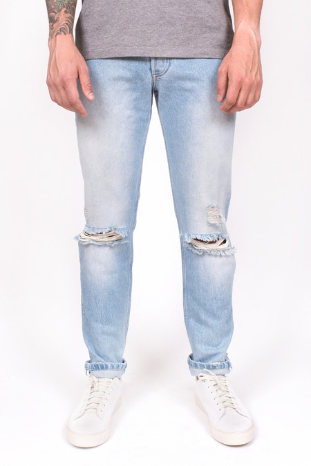 Men's Soulland Erik Jeans Vintage Blue