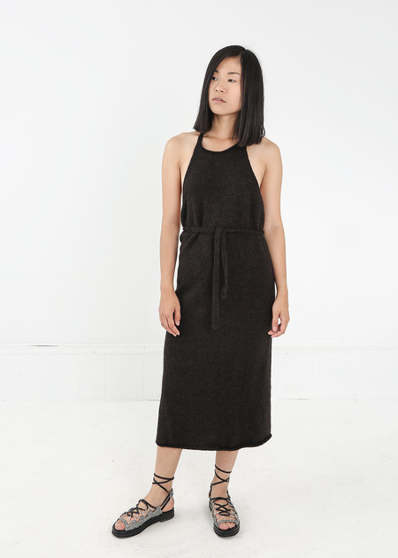 Baserange Knit Apron Dress