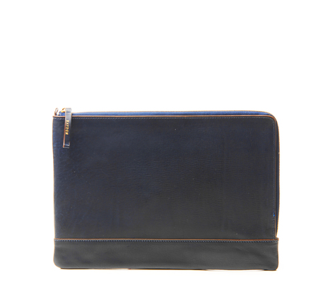 Hayden Leather Navy Portfolio