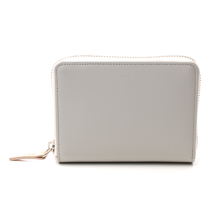 I Ro Se Grey Pop Up Wallet