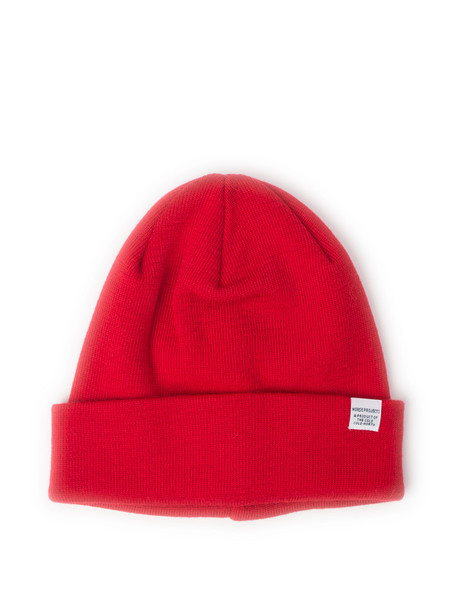 Norse Projects Norse Top Beanie Oxide Red