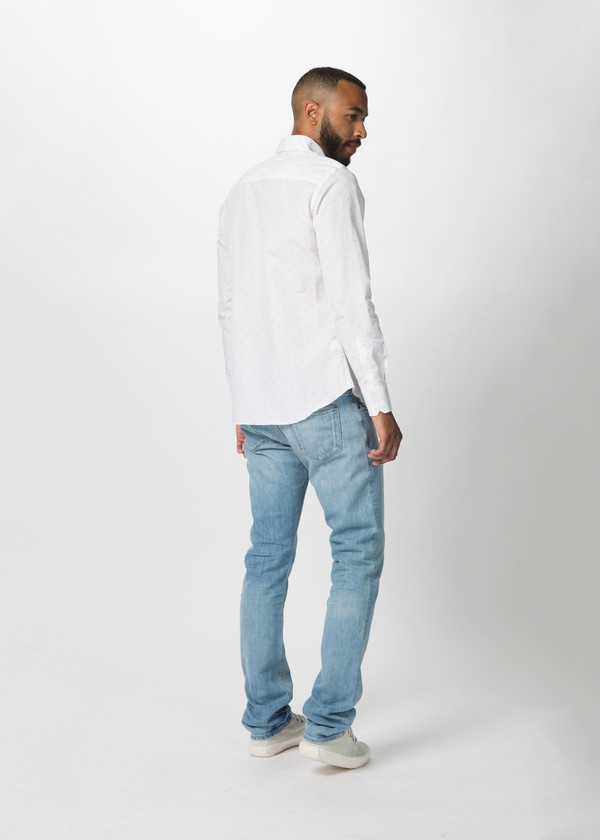 Men's Shockoe Slim Fit Cielo Denim