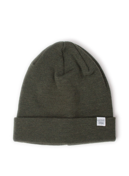 Norse Projects Norse Top Beanie Dried Olive