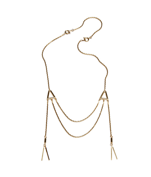 ALYNNE LAVIGNE - Double Tassel Necklace